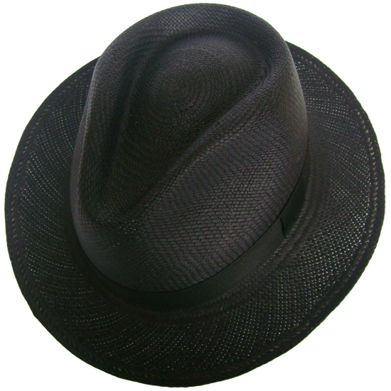 9679fa470d86d Panama Cuenca Hat - Plantation (Ausin) Black for Men (Grade 3-4 ...