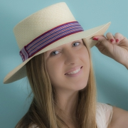Panama Hat Boater - Erie
