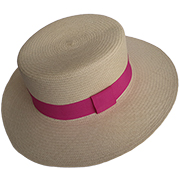 Panama Hat Boater - Hillier