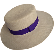 Panama Hat Boater - Bled