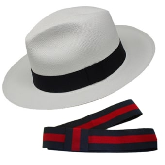 Chapeau Panama Break + Ruban Standard - 5