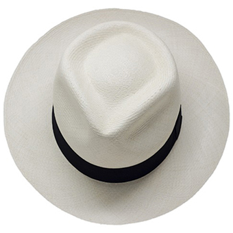 Natural Panama Hat - Montecristi Diamond - Grade 11-12