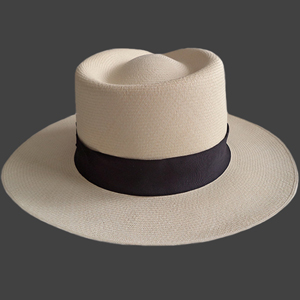 Panama Montecristi Hat - Plantation (Ausin) for Men (Grade 21-22)