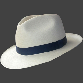 Panama Montecristi Hat - Fedora for Men (Grade 35)