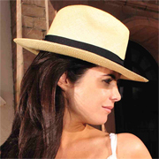Panama Hat Fedora Gamboa Classic for Women