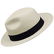 Panama Hat Montecristi (7-8) + Hat Raft Wood Box