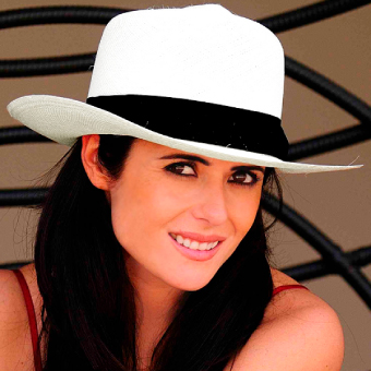 9692dfd74fe Panama Hat - Colonial for Women (Grade 3-4) - White -