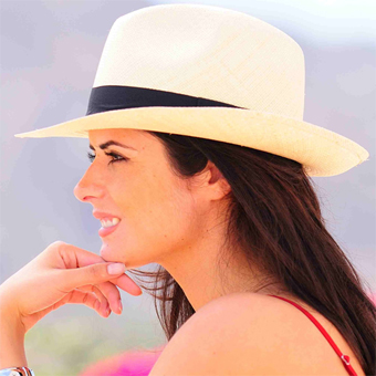 Panama Hat Borsalino - Gamboa Classic for Women