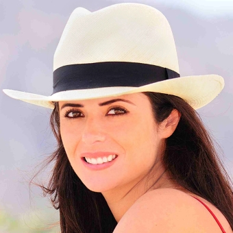 Panama Hat - Borsalino for Women (Grade 5-6) - Natural