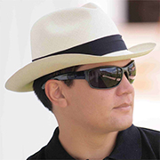 Panama Montecristi Hat - Fedora for Men - Gamboa Classic