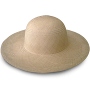 Light Brown Brisa Panama Hat for Women