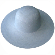 Light Blue Brisa Panama Hat for Women