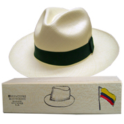 Panama Hat Montecristi (11-12) + Raft Wood Hat Box