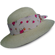 Natural Brisa Crochet Panama Hat for Women