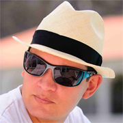 Panama Cuenca Hat - Natural Borsalino (Havana) for Men (Grade 3-4) - Gamboa Classic