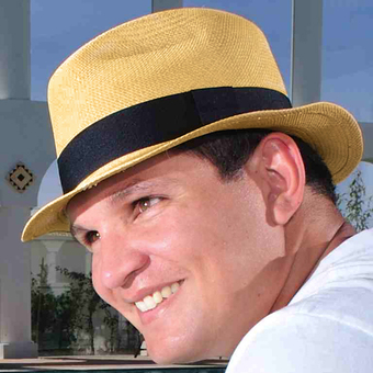 Panama Cuenca Hat - Plantation (Ausin) Light Brown for Men  (Grade 3-4)