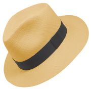Panama Cuenca Hat - Plantation (Ausin) Light Brown  (Grade 3-4)