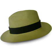 Panama Cuenca Hat - Fedora (Light Green) - (Grade 3-4)