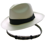 Panama Hat Cuenca (7-8) + &#34Crin de Caballo&#34 Band - Two colors