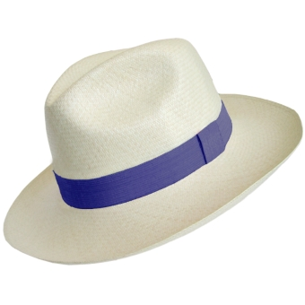 Chapeu Panama Eté Collection - Bleu
