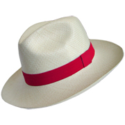 Chapeu Panama Eté Collection - Rouge