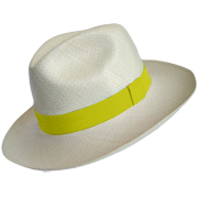 Chapeu Panama Eté Collection - Jaune