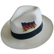 Panama Hat Germany Flag