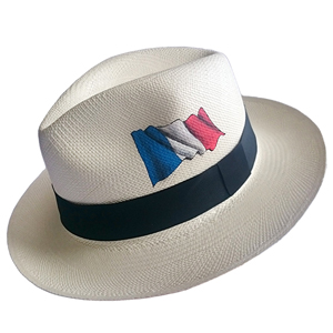 Panama Hat France Flag - Brazil 2016