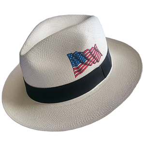 Panama Hat USA Flag - Brazil 2016
