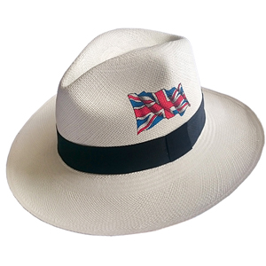 Panama Hat United Kingdom Flag