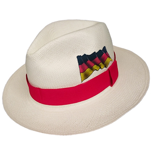 Panama Hat Germany Flag - Red Brazil 2016