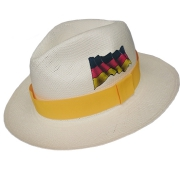 Panama Hat Germany Flag - Yellow Brazil 2016