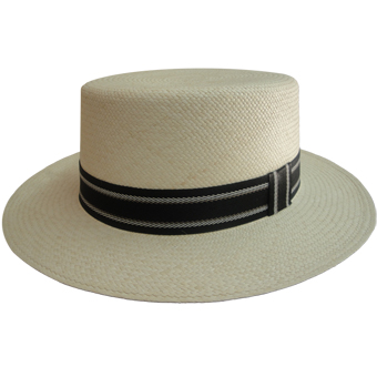 Panama Hat - Cordovez Boater for Women