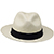Panama Montecristi Hat - Fedora for Men (Grade 6-7)