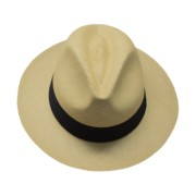 Panama Hat  Fedora - Gamboa Classic for Women - Light Brown