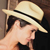 Panama Hat - Fedora for Women (Grade 3-4) - Light Brown