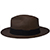 Panama Cuenca Hat - Fedora for Men (Grade 3-4) - Brown