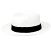 Panama Hat Fedora White - Gamboa Classic for Women