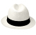 Panama Cuenca Hat - White Borsalino (Havana) for Women (Grade 3-4)