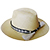 Panama Hat Horsehair Band - Bicolor Slice Pattern (Thick)